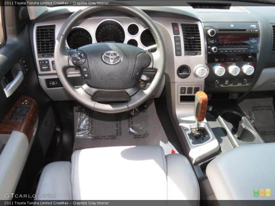 Graphite Gray Interior Dashboard for the 2011 Toyota Tundra Limited CrewMax #79590443
