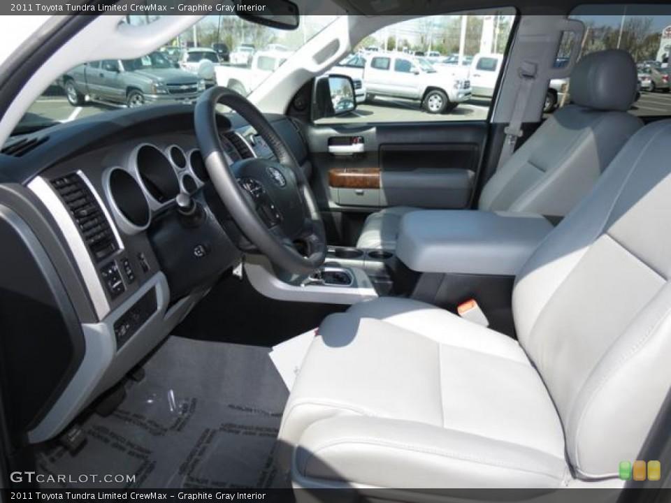Graphite Gray Interior Photo for the 2011 Toyota Tundra Limited CrewMax #79590506