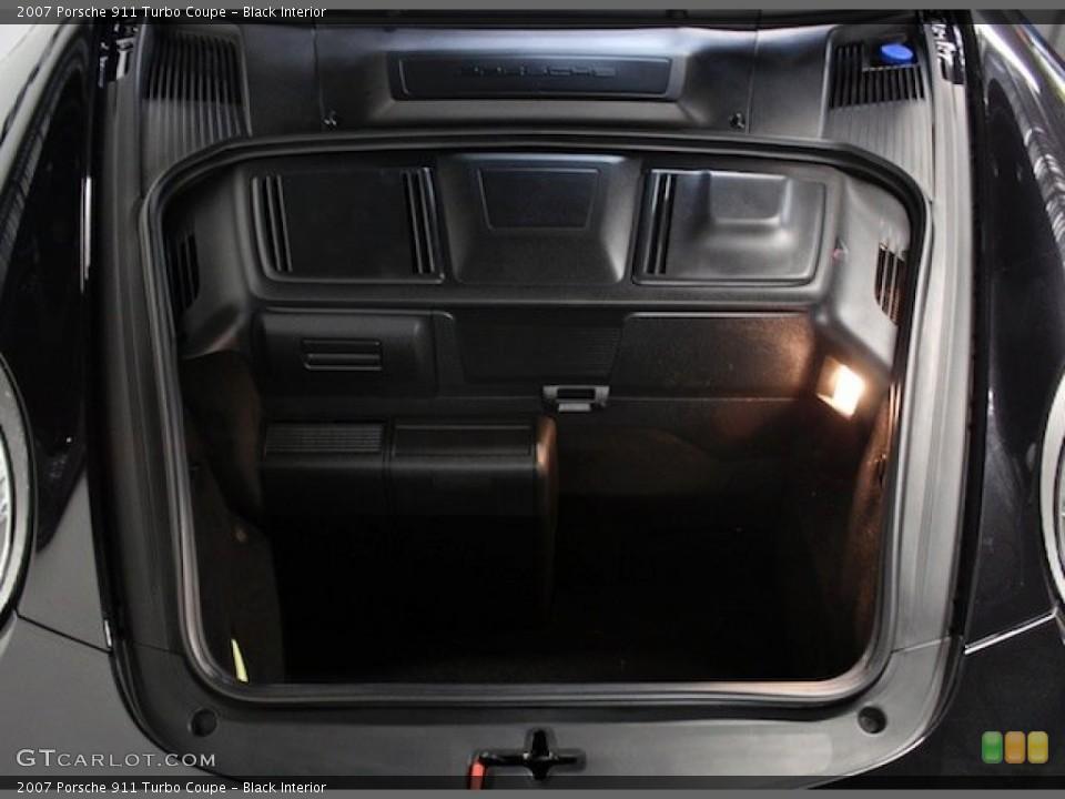Black Interior Trunk for the 2007 Porsche 911 Turbo Coupe #79598231
