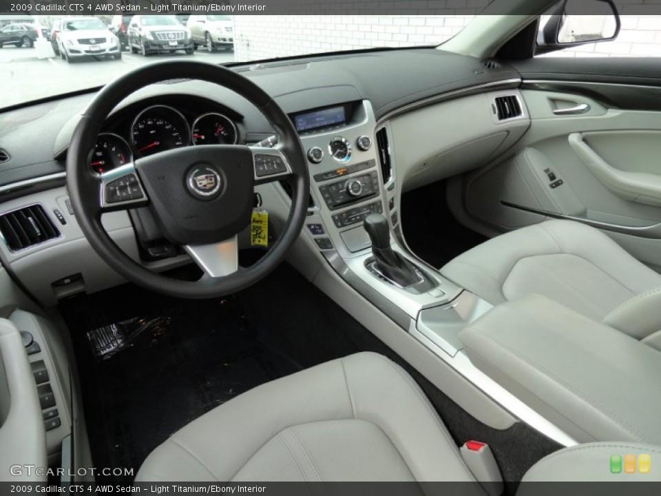 Light Titanium/Ebony 2009 Cadillac CTS Interiors