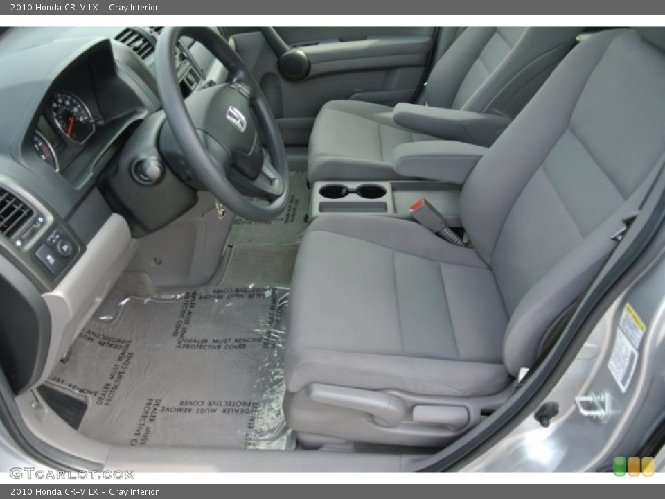 Gray Interior Front Seat for the 2010 Honda CR-V LX #79710087