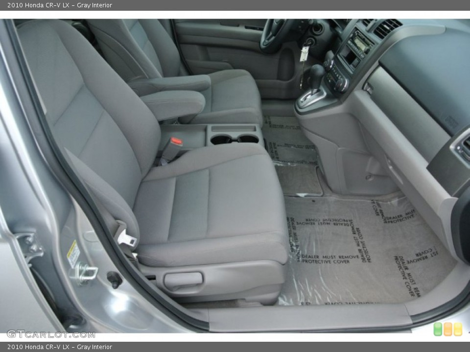 Gray Interior Front Seat for the 2010 Honda CR-V LX #79710211