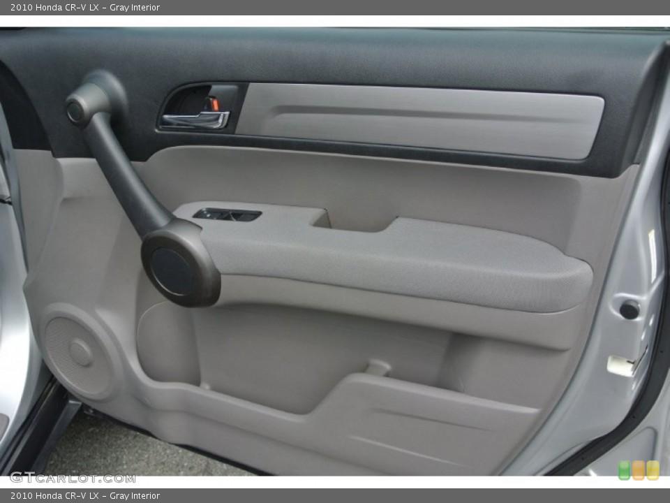 Gray Interior Door Panel for the 2010 Honda CR-V LX #79710225