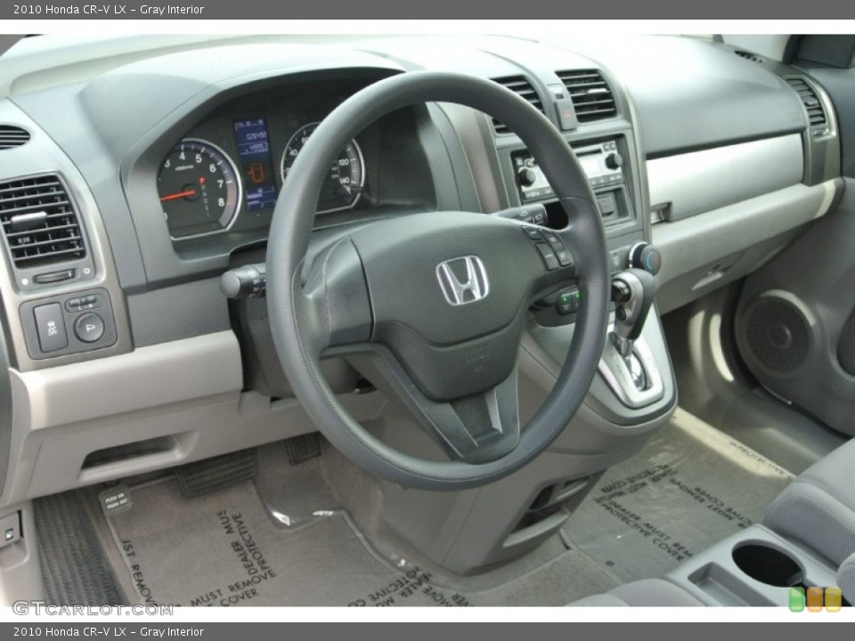 Gray Interior Dashboard for the 2010 Honda CR-V LX #79710274