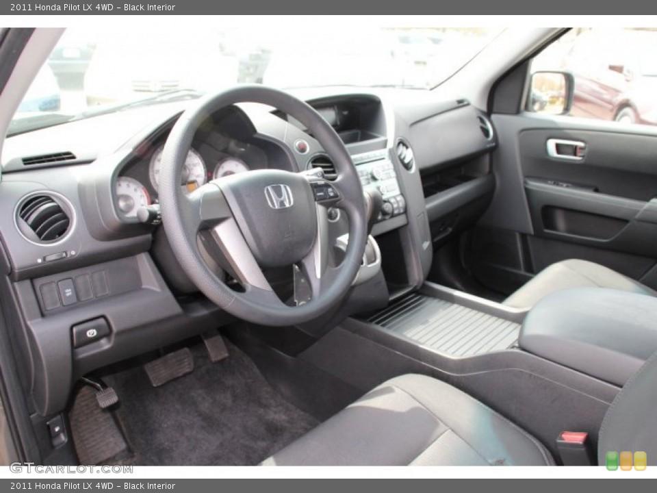 Black Interior Prime Interior for the 2011 Honda Pilot LX 4WD #79737572