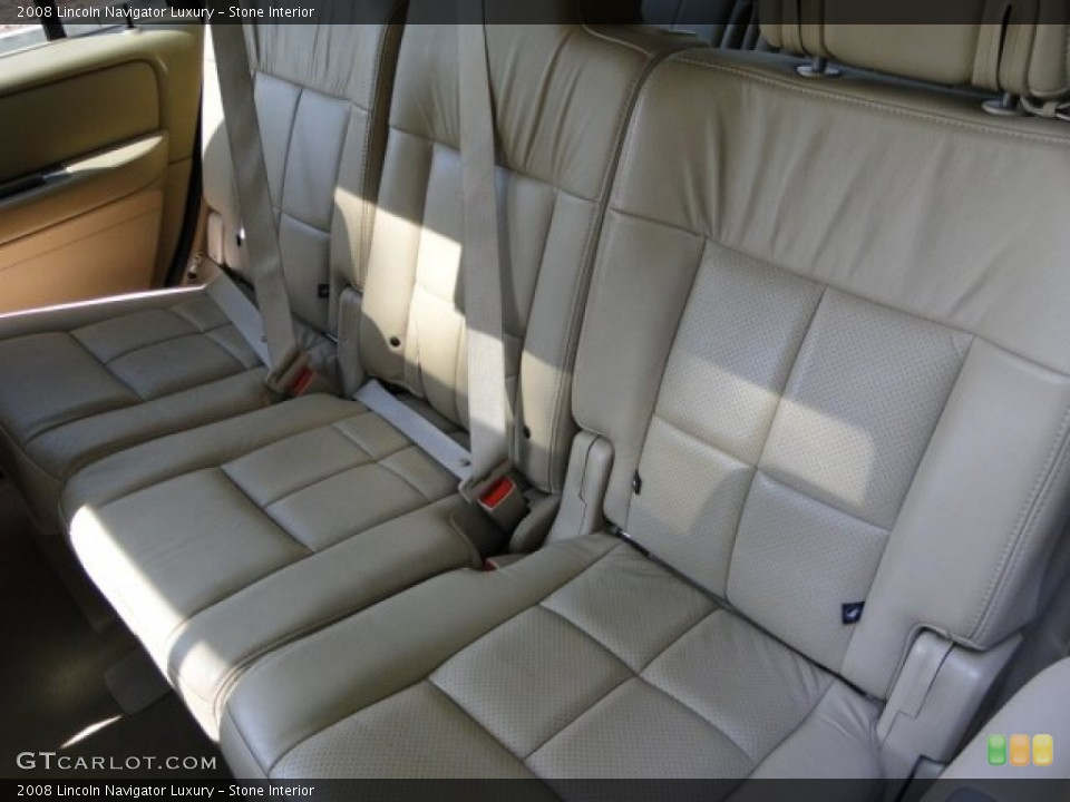 Stone 2008 Lincoln Navigator Interiors