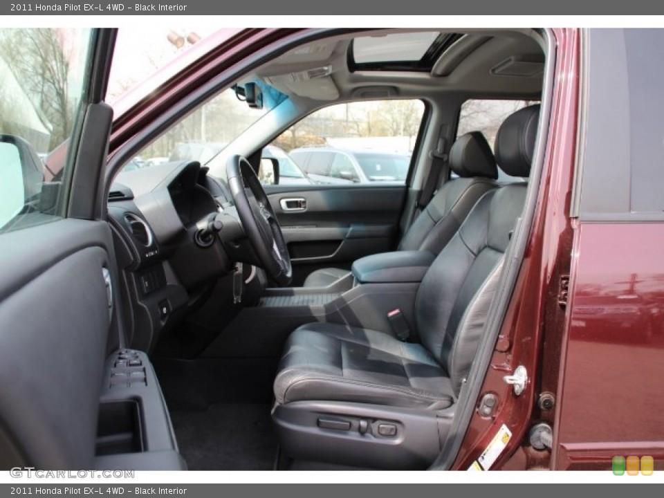Black Interior Photo for the 2011 Honda Pilot EX-L 4WD #79741358