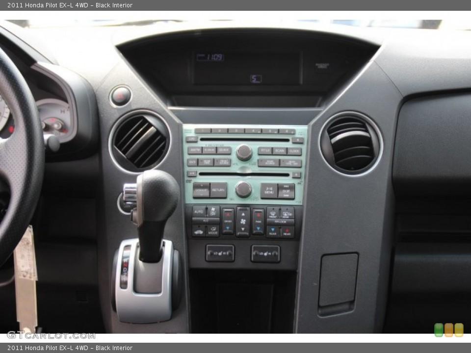 Black Interior Controls for the 2011 Honda Pilot EX-L 4WD #79741398
