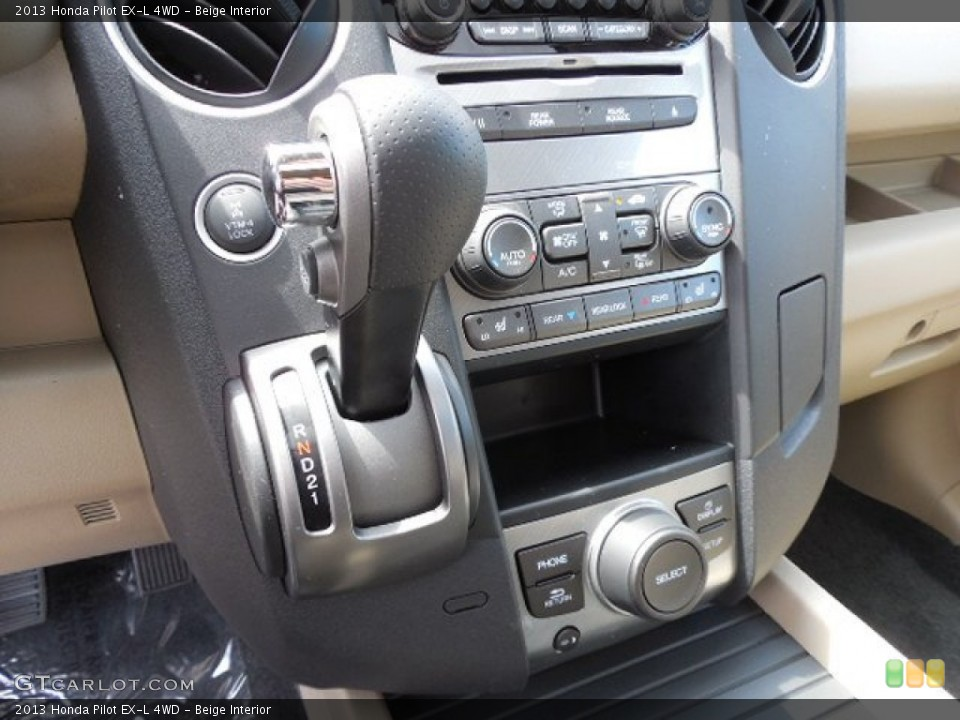 Beige Interior Transmission for the 2013 Honda Pilot EX-L 4WD #79862311