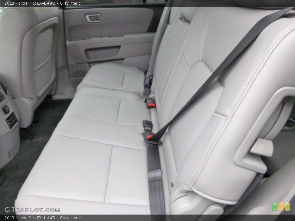Gray Interior Rear Seat for the 2013 Honda Pilot EX-L 4WD #80010605