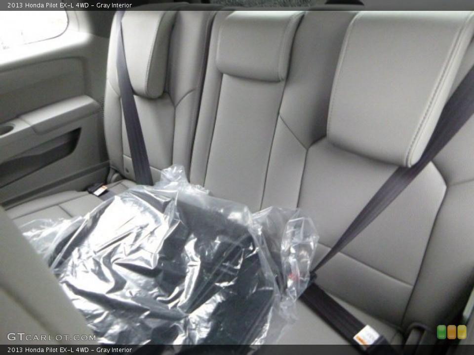Gray Interior Rear Seat for the 2013 Honda Pilot EX-L 4WD #80010620