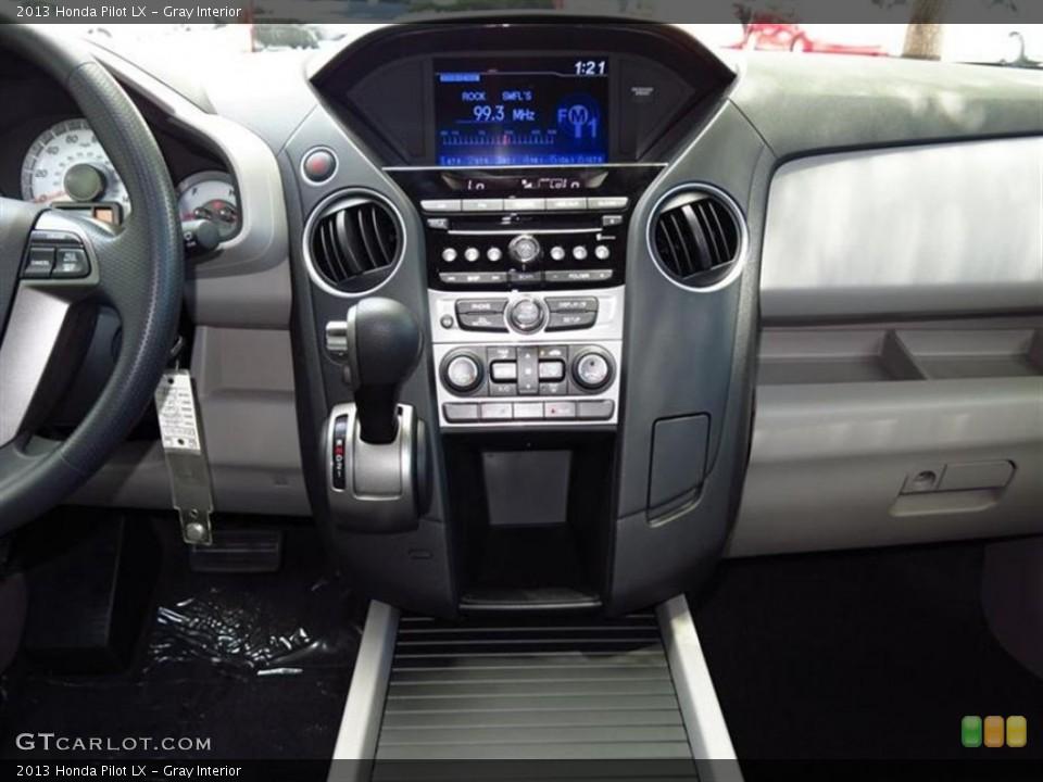 Gray Interior Controls for the 2013 Honda Pilot LX #80011164