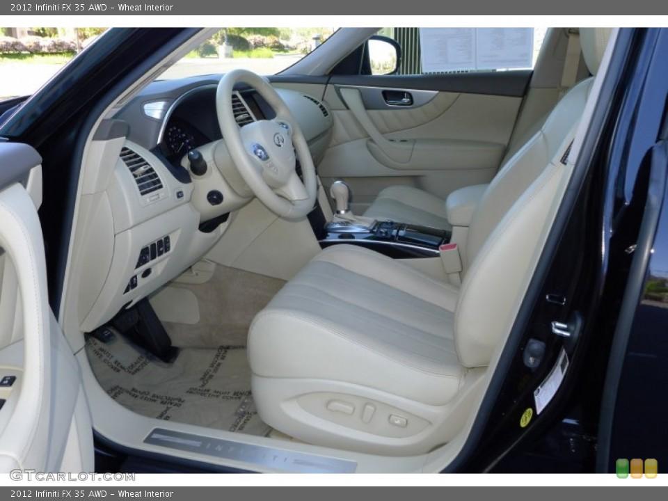 Wheat Interior Photo for the 2012 Infiniti FX 35 AWD #80021666