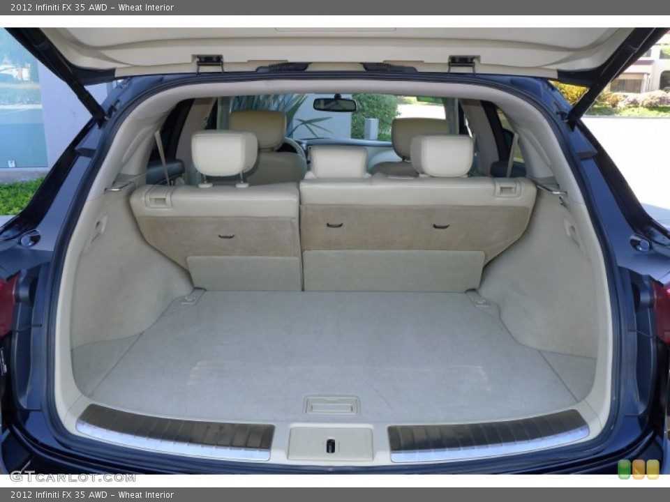 Wheat Interior Trunk for the 2012 Infiniti FX 35 AWD #80021980