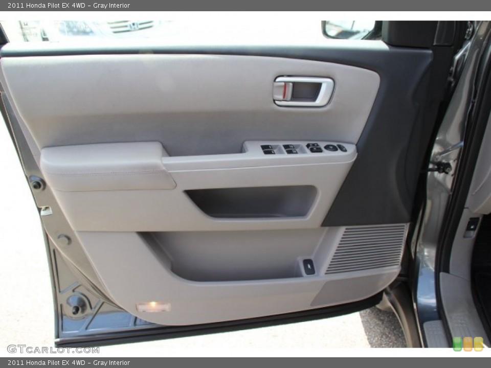 Gray Interior Door Panel for the 2011 Honda Pilot EX 4WD #80079879