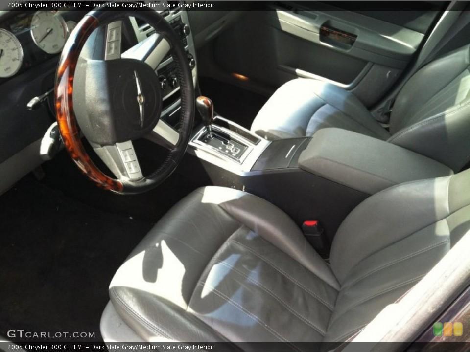 Dark Slate Gray/Medium Slate Gray 2005 Chrysler 300 Interiors
