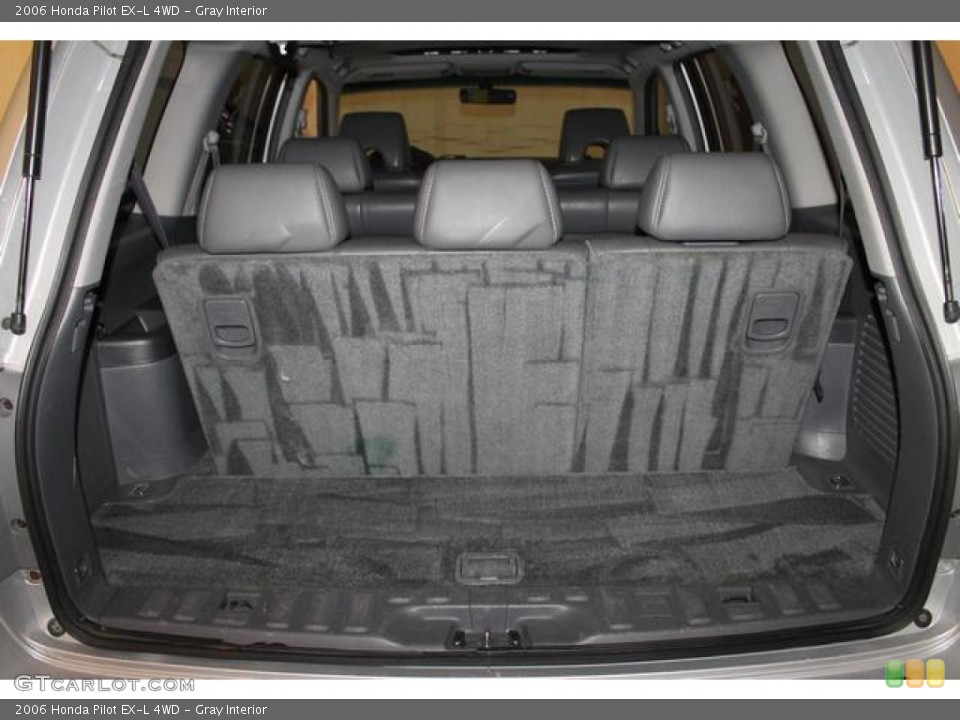 Gray Interior Trunk for the 2006 Honda Pilot EX-L 4WD #80298124