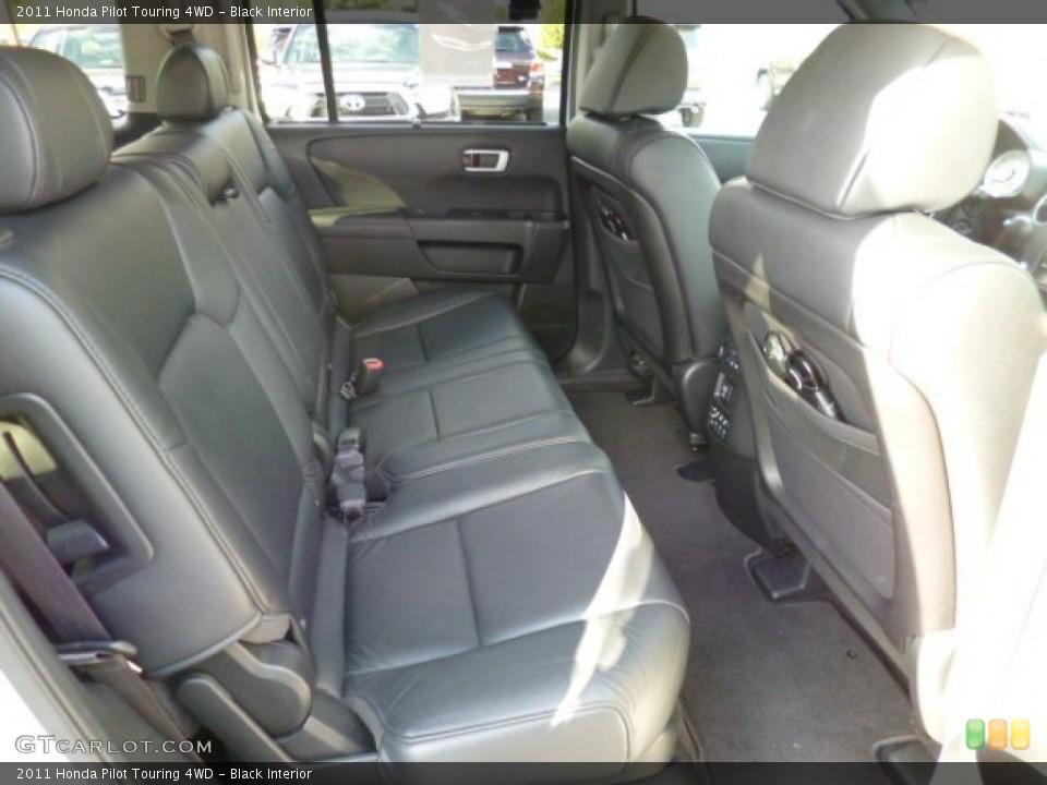 Black Interior Rear Seat for the 2011 Honda Pilot Touring 4WD #80303432