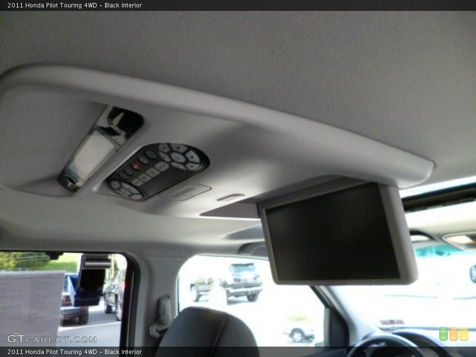 Black Interior Entertainment System for the 2011 Honda Pilot Touring 4WD #80303450