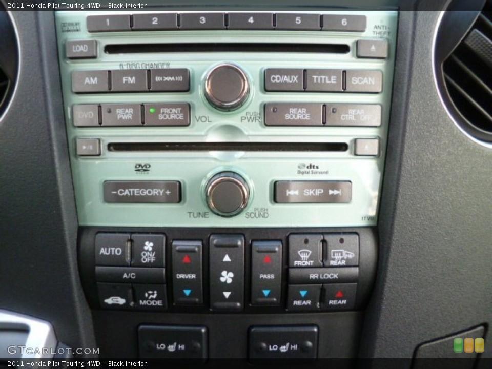 Black Interior Controls for the 2011 Honda Pilot Touring 4WD #80303554
