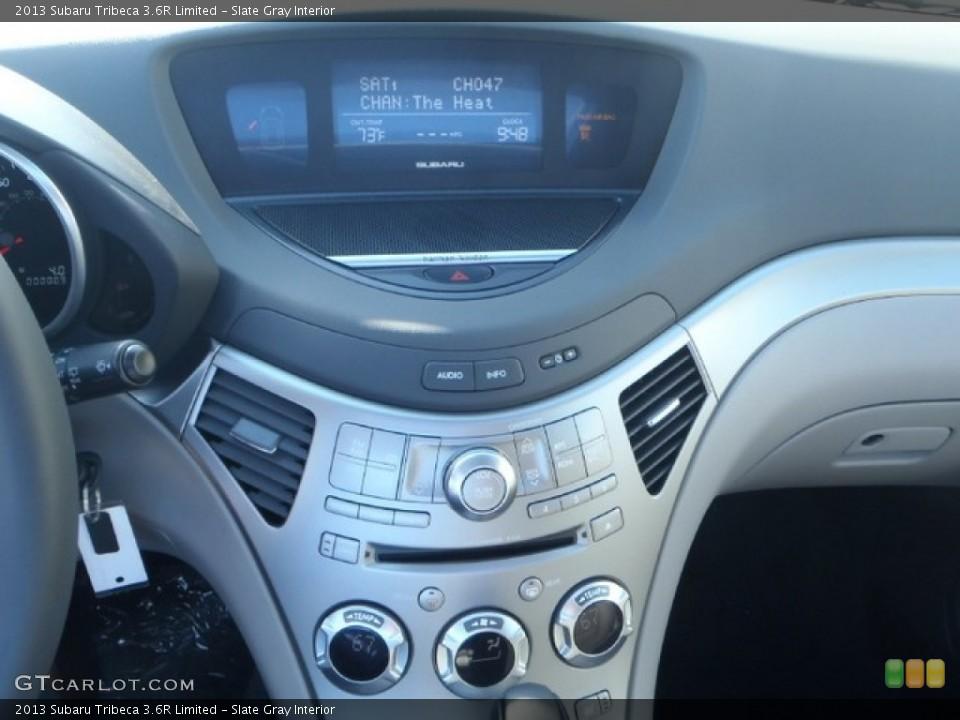 Slate Gray Interior Controls for the 2013 Subaru Tribeca 3.6R Limited #80309744