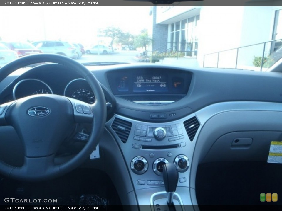 Slate Gray Interior Dashboard for the 2013 Subaru Tribeca 3.6R Limited #80309806
