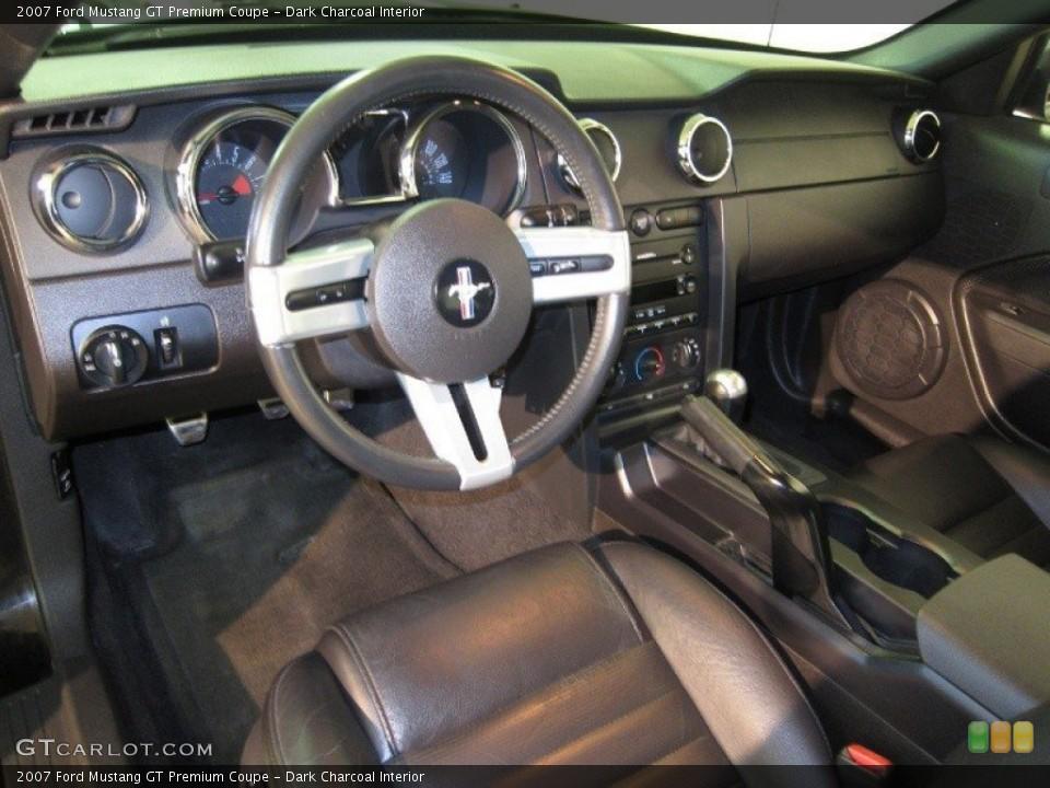 Dark Charcoal 2007 Ford Mustang Interiors