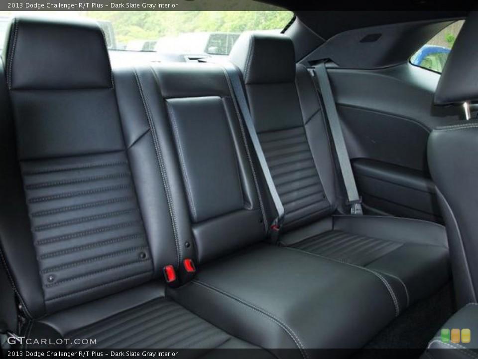 Dark Slate Gray Interior Rear Seat for the 2013 Dodge Challenger R/T Plus #80361714