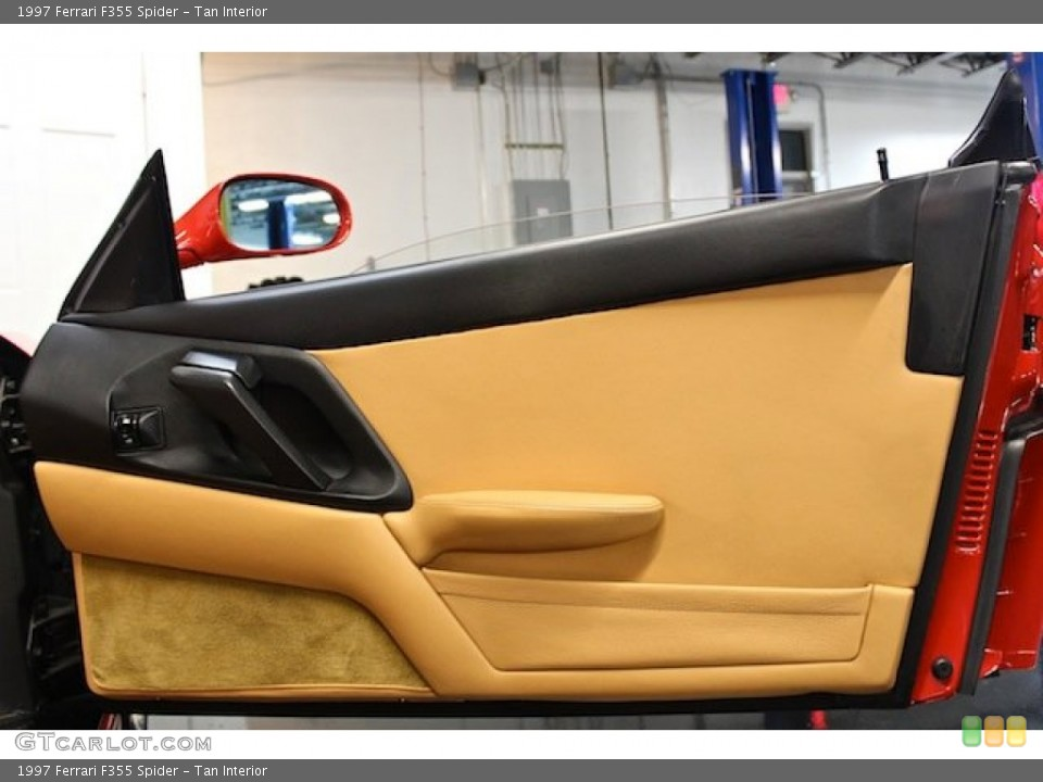 Tan Interior Door Panel for the 1997 Ferrari F355 Spider #80397757
