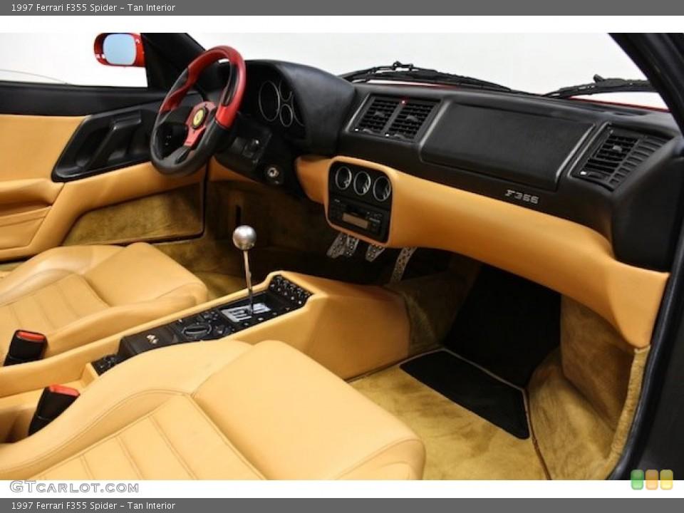 Tan Interior Dashboard for the 1997 Ferrari F355 Spider #80397936