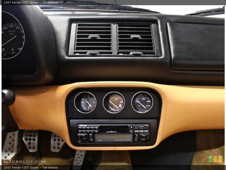 Tan Interior Controls for the 1997 Ferrari F355 Spider #80398023