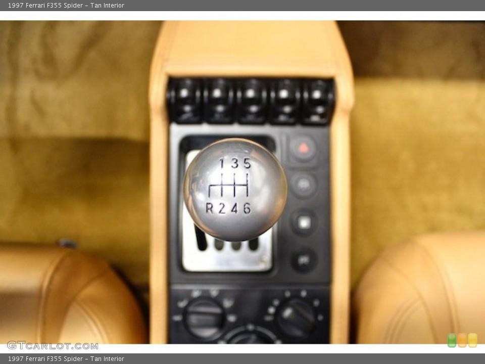 Tan Interior Transmission for the 1997 Ferrari F355 Spider #80398125