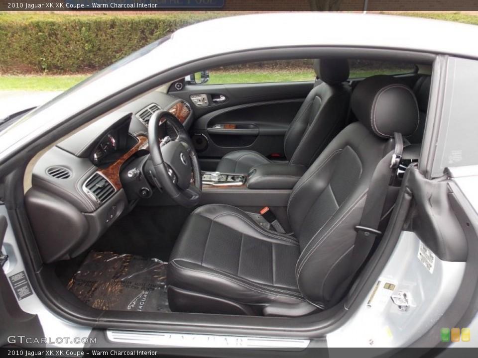 Warm Charcoal Interior Photo for the 2010 Jaguar XK XK Coupe #80400814
