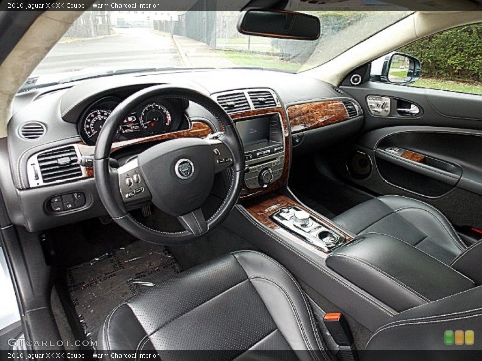 Warm Charcoal Interior Prime Interior for the 2010 Jaguar XK XK Coupe #80400855