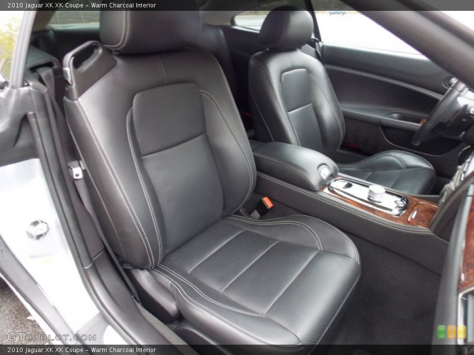 Warm Charcoal Interior Photo for the 2010 Jaguar XK XK Coupe #80400967