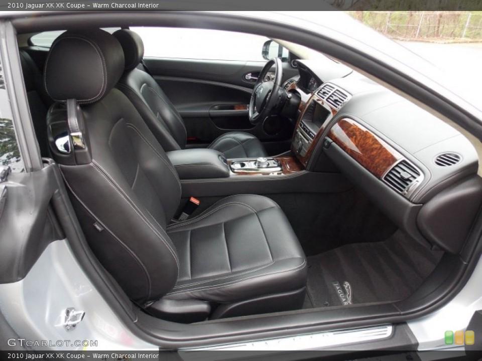 Warm Charcoal Interior Photo for the 2010 Jaguar XK XK Coupe #80400993
