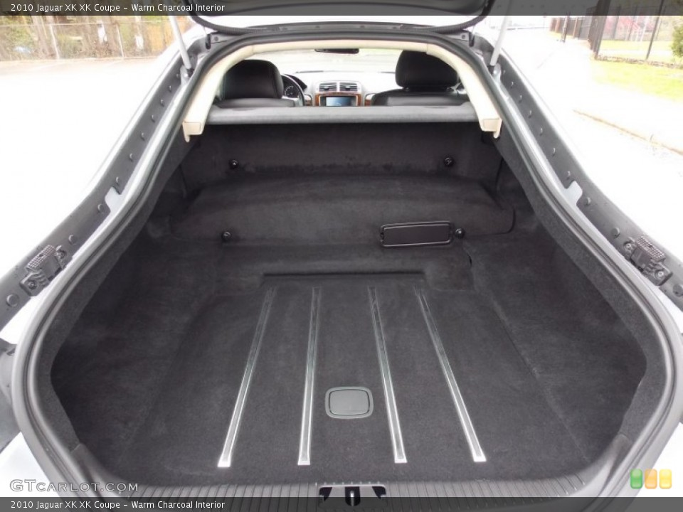 Warm Charcoal Interior Trunk for the 2010 Jaguar XK XK Coupe #80401077