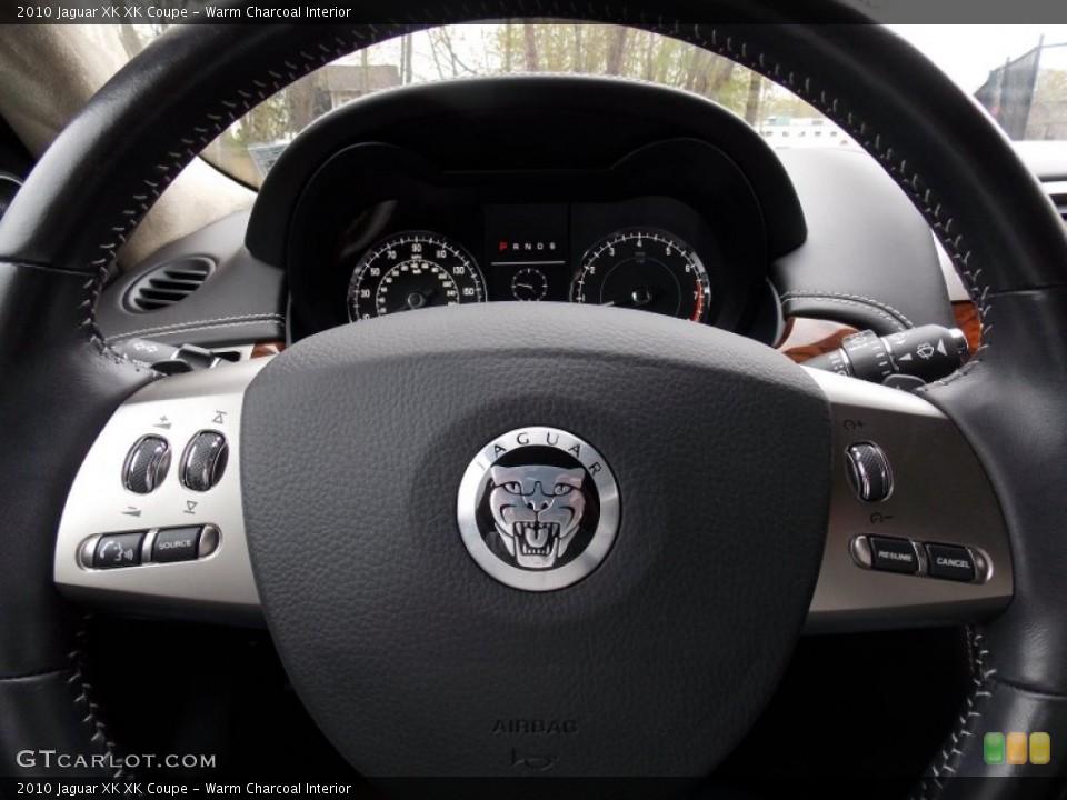 Warm Charcoal Interior Controls for the 2010 Jaguar XK XK Coupe #80401246
