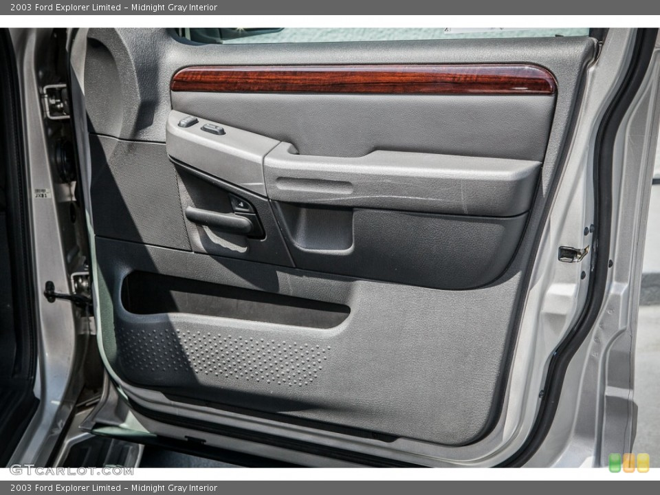 Midnight Gray Interior Door Panel for the 2003 Ford Explorer Limited #80522149