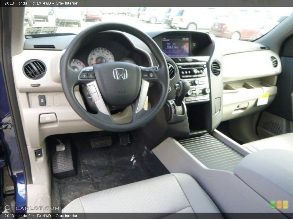 Gray Interior Prime Interior for the 2013 Honda Pilot EX 4WD #80522631