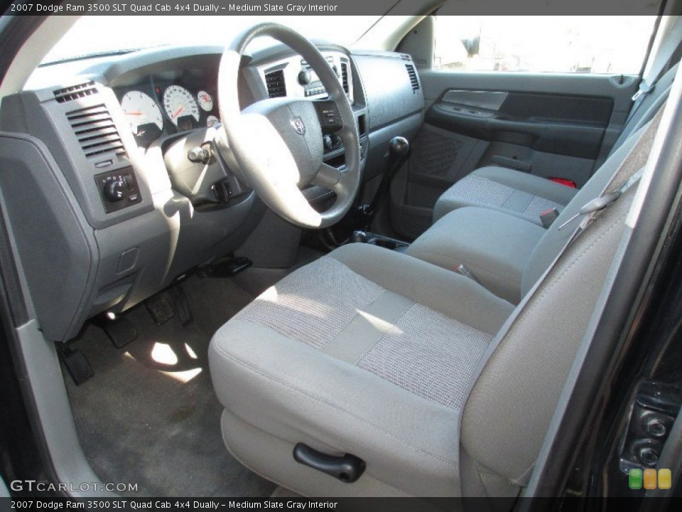 Medium Slate Gray 2007 Dodge Ram 3500 Interiors