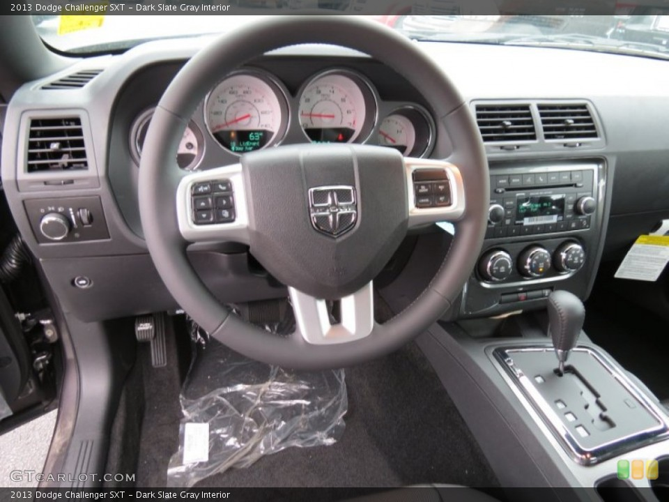 Dark Slate Gray Interior Dashboard for the 2013 Dodge Challenger SXT #80607970
