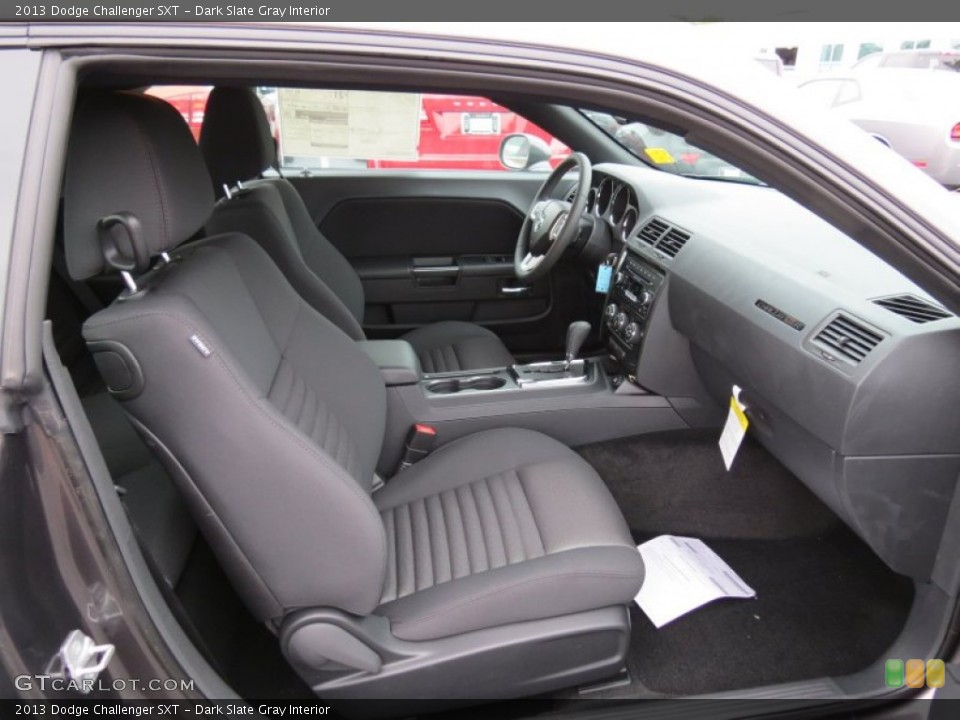 Dark Slate Gray Interior Photo for the 2013 Dodge Challenger SXT #80607994