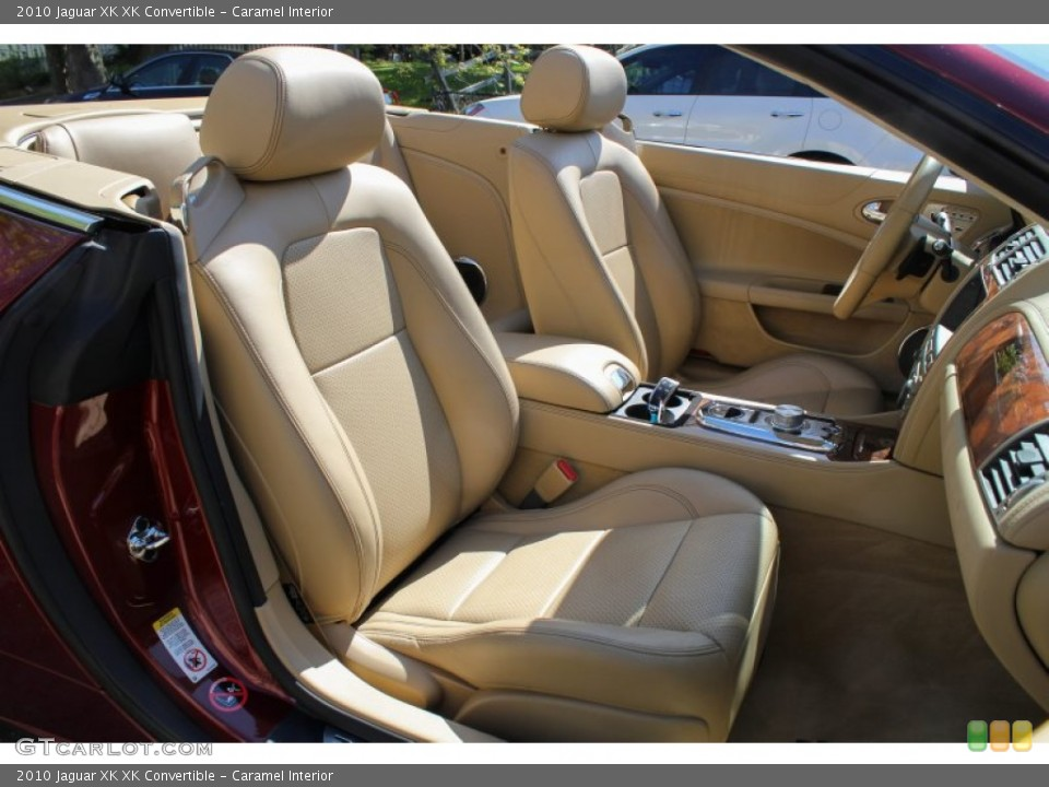 Caramel Interior Photo for the 2010 Jaguar XK XK Convertible #80622441