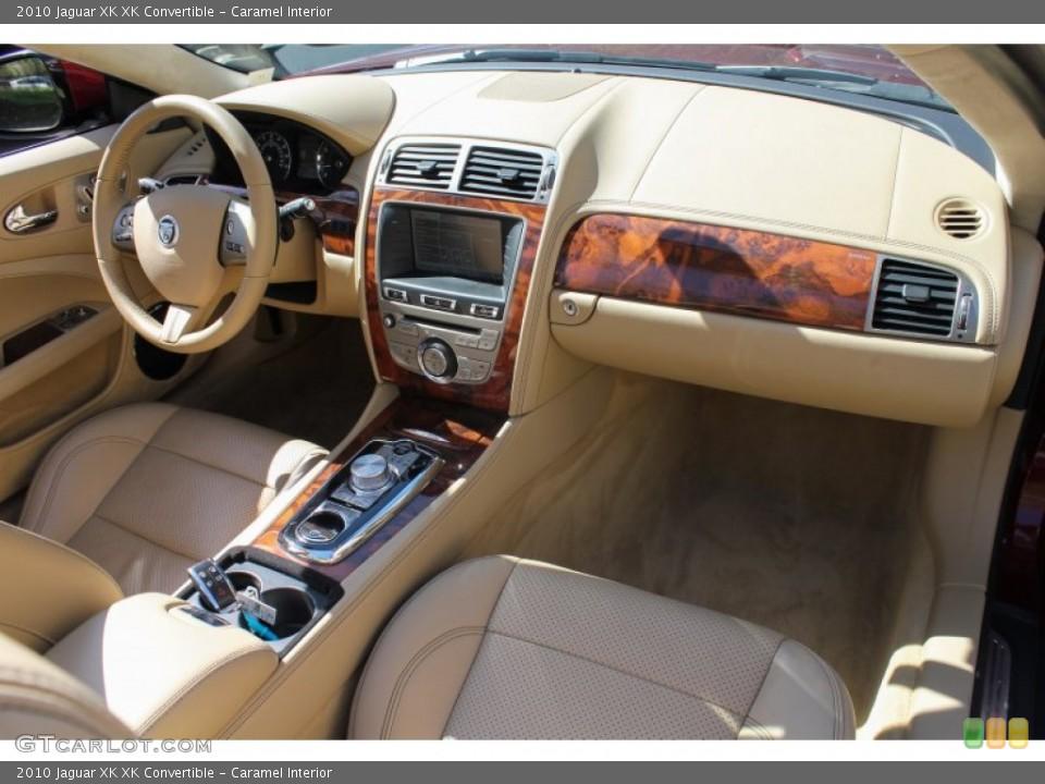 Caramel Interior Dashboard for the 2010 Jaguar XK XK Convertible #80622463