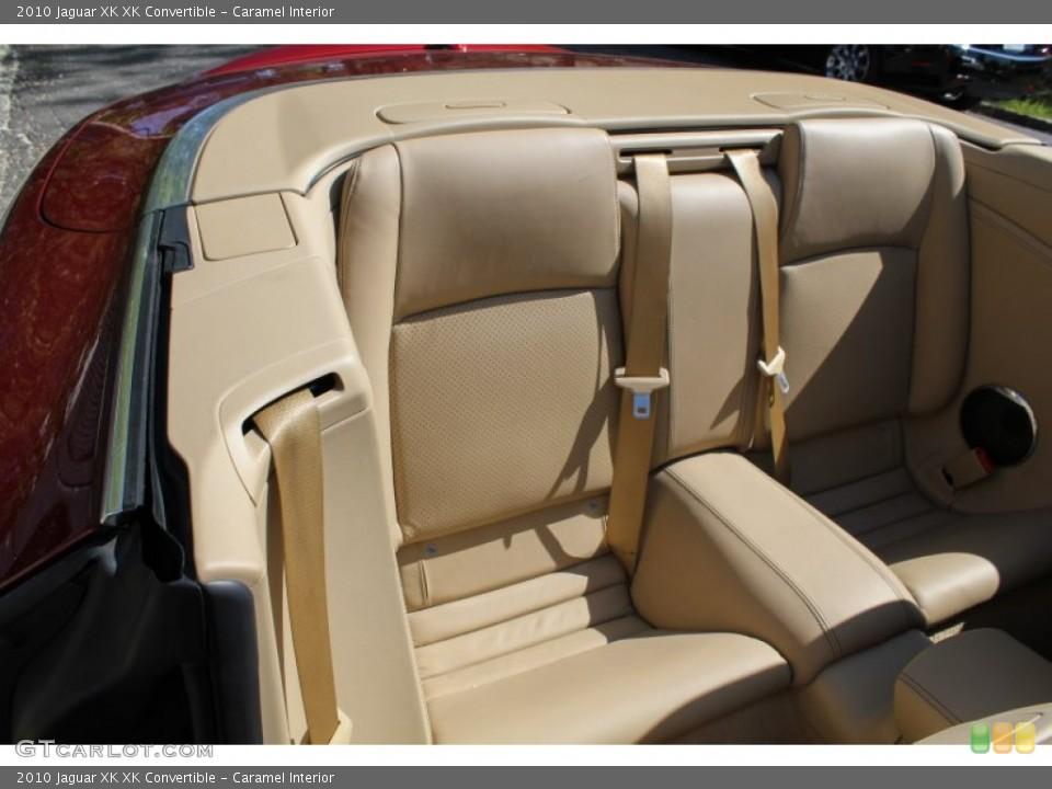 Caramel Interior Rear Seat for the 2010 Jaguar XK XK Convertible #80622487
