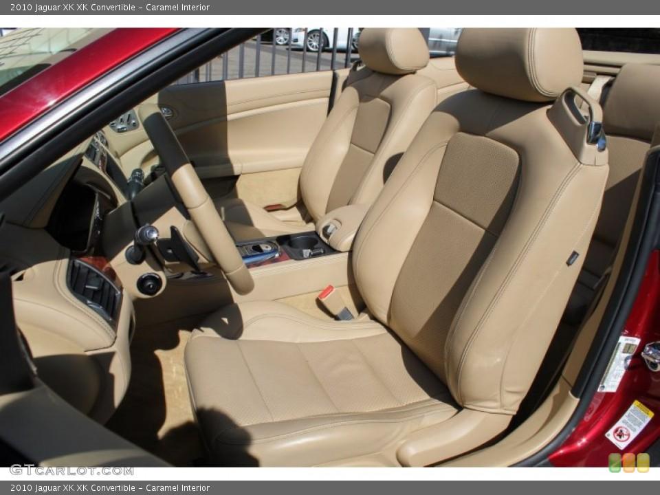 Caramel Interior Front Seat for the 2010 Jaguar XK XK Convertible #80622530