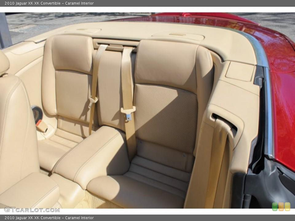 Caramel Interior Rear Seat for the 2010 Jaguar XK XK Convertible #80622556