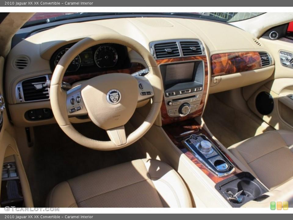 Caramel Interior Dashboard for the 2010 Jaguar XK XK Convertible #80622584
