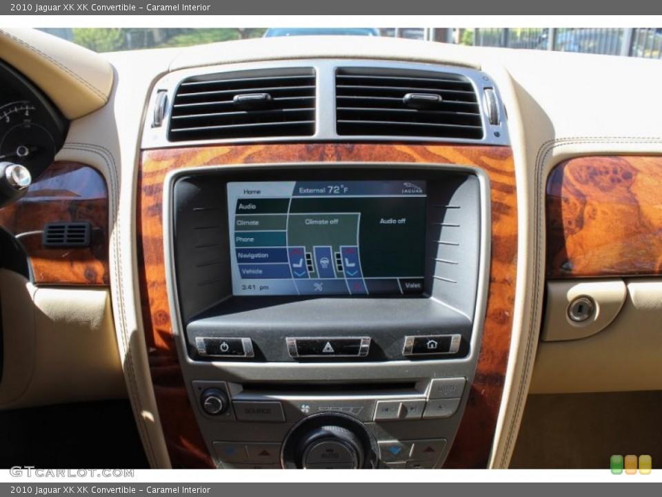 Caramel Interior Controls for the 2010 Jaguar XK XK Convertible #80622617